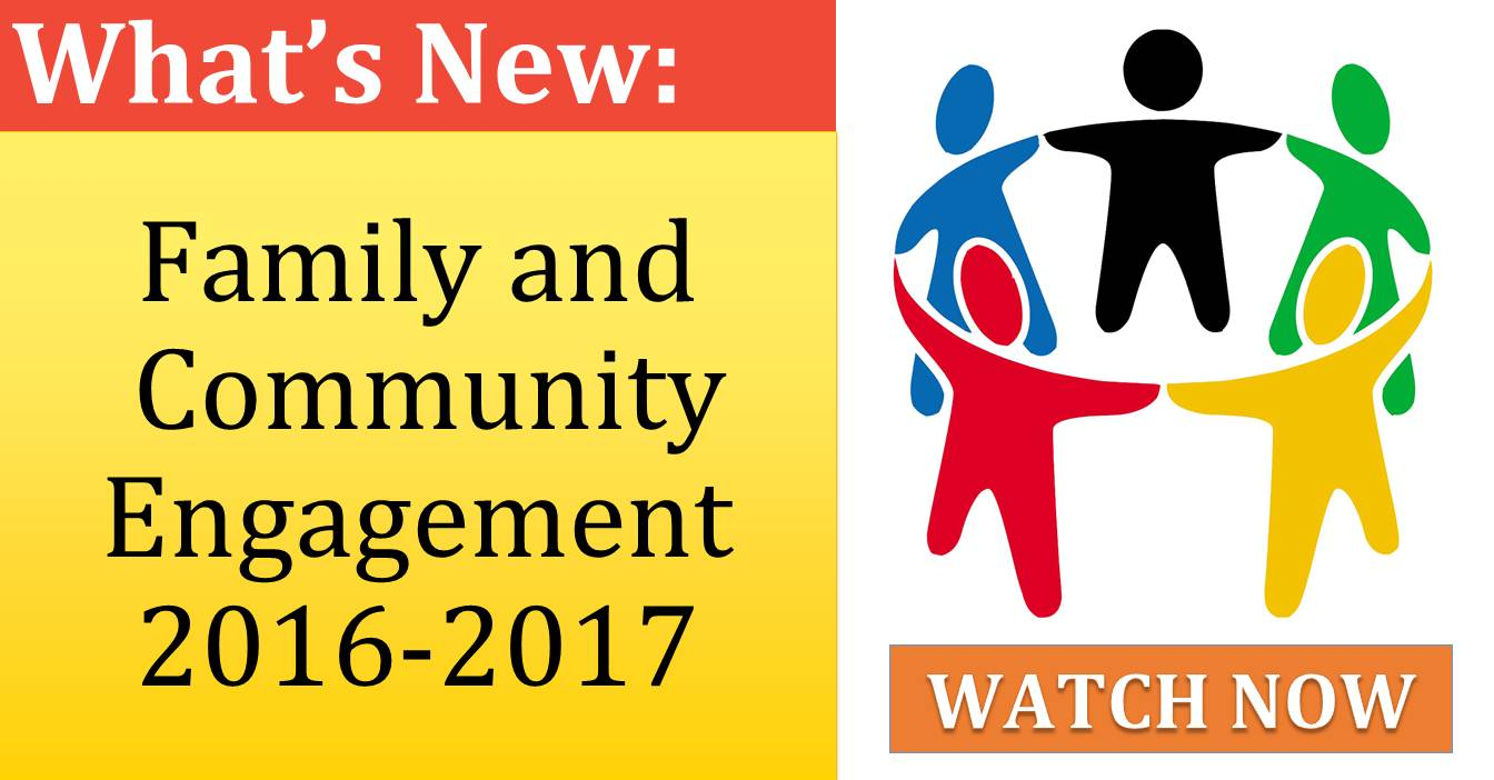 Family and  Community Engagement 2016-2017