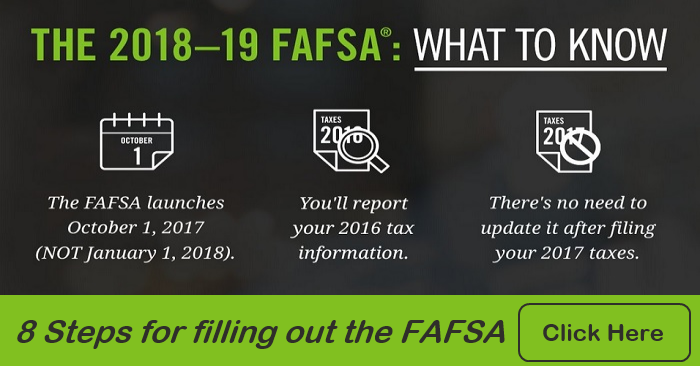 FAFSA What to Know & 8 Steps 2018-19