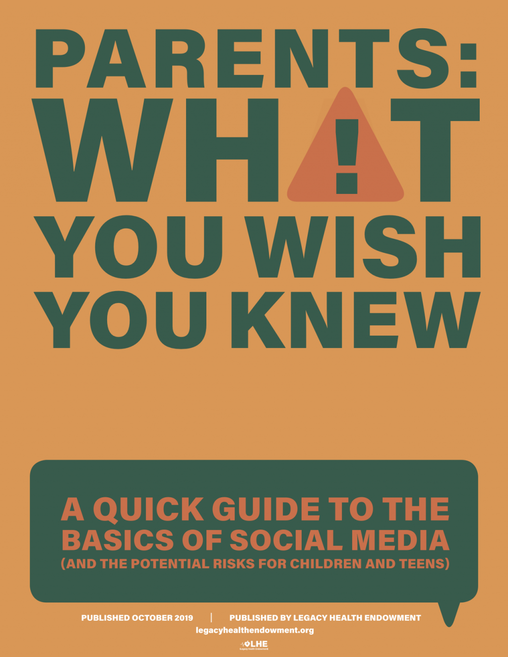 Parents: What You Wish You Knew